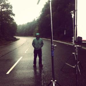 Ric in rain